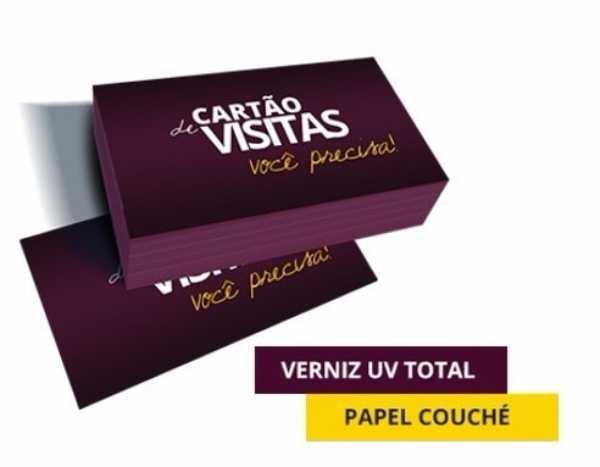 1000 CARTÕES DE VISITA 4X0