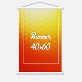 BANNER 40X60 Lona 440grs Tamanho 40x60cm 4 Cores / Impressão Digital  Madeira / Cordão PARA PEDIDOS FEITOS ATÉ AS 12:00HS DO MESMO DIA ***com pagamento compensado