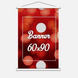 BANNER 60X90 Lona 440grs 4 Cores / Impressão Digital  Madeira / Cordão PARA PEDIDOS FEITOS ATÉ AS 12:00HS DO MESMO DIA