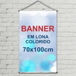 BANNER 70X100 Lona 440grs 4 Cores / Impressão Digital  Madeira / Cordão PARA PEDIDOS FEITOS ATÉ AS 12:00HS DO MESMO DIA