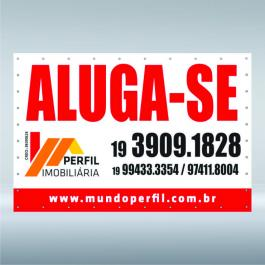 LONA COM ILHOS Lona 440grs  4X0 CORES LONA BRILHO / FOSCA ILHOS VALOR DO M²