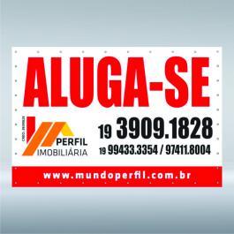 LONA PROMOCIONAL COM ILHOS Lona 280grs  4X0 CORES LONA BRILHO / FOSCA ILHOS VALOR DO M²