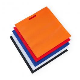 SACOLA TNT SEM ALÇA  4x0   Personalização Silk 1 Cor Sacola colorida com alça em material TNT